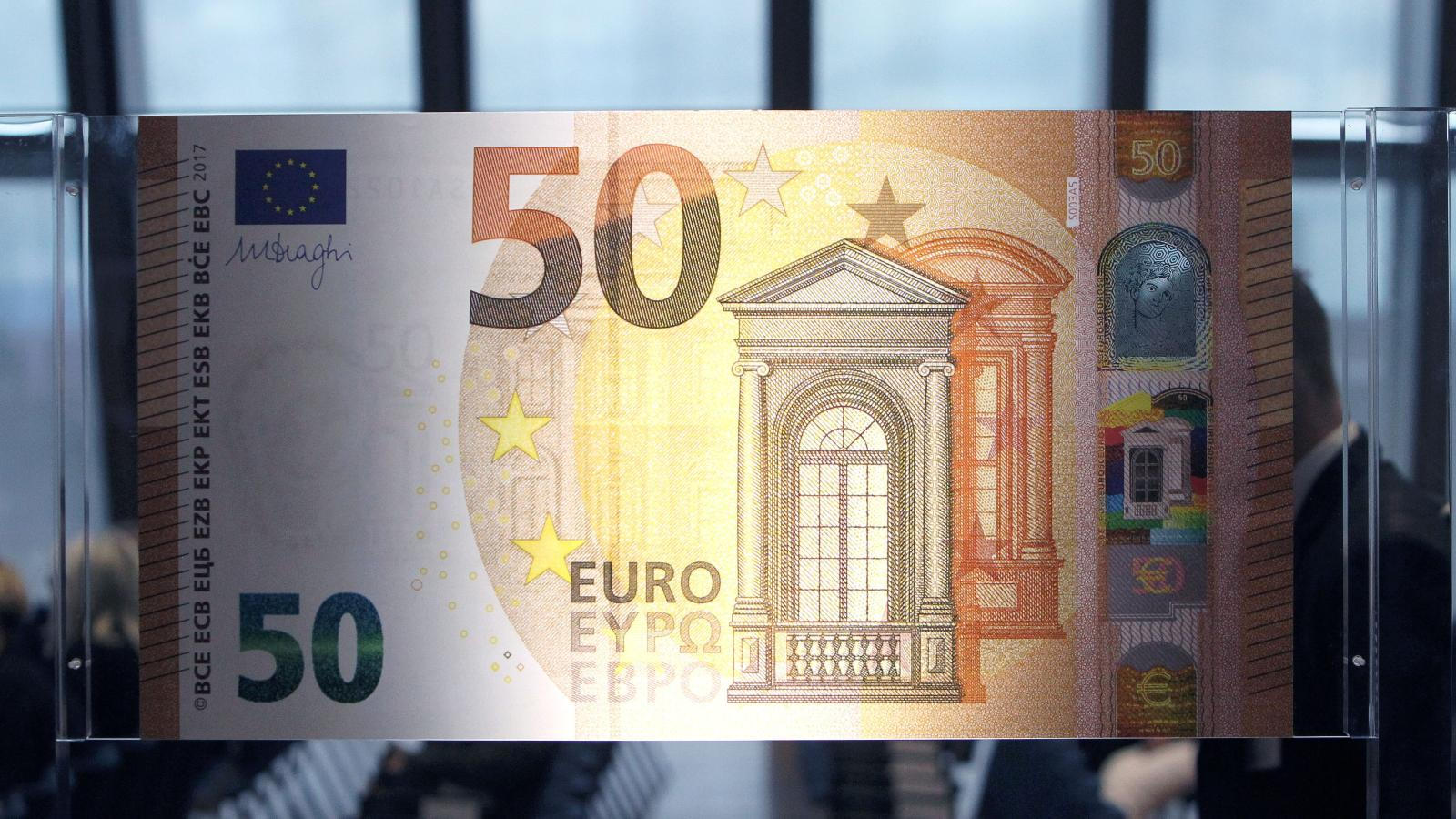 Как определить поддельные евро