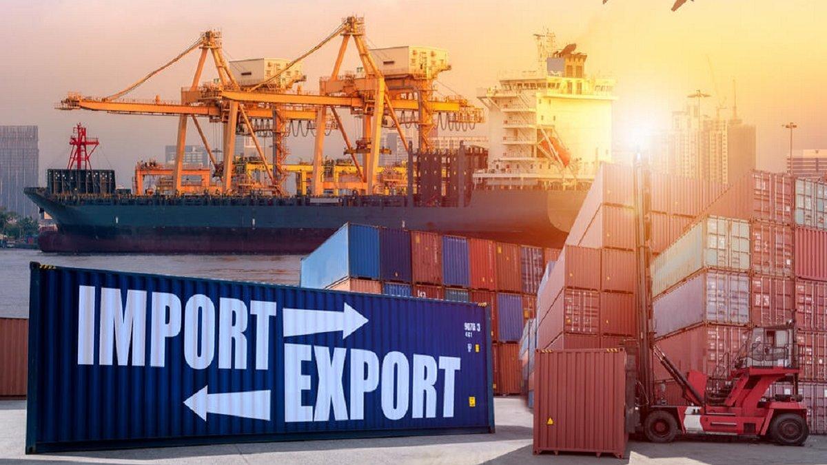Показатели импорта и экспорта в Украине