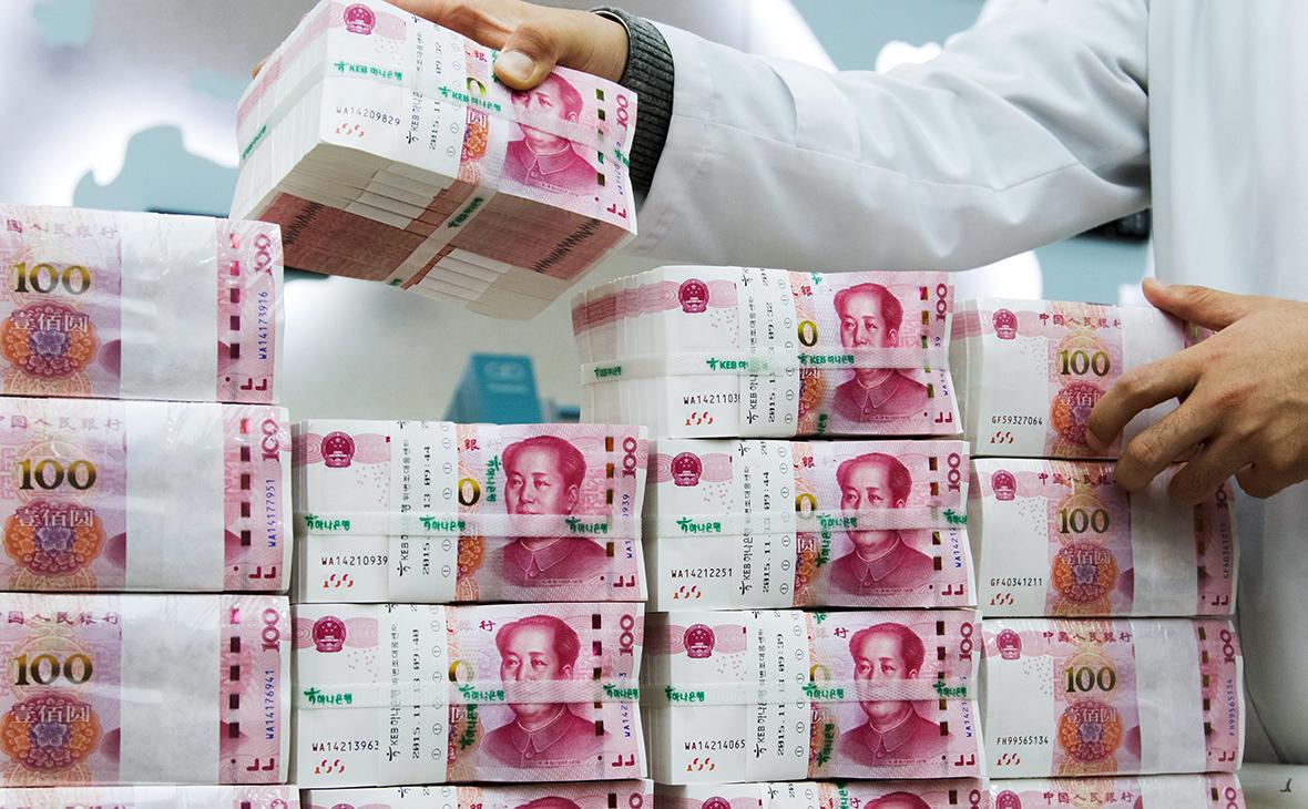 Курс китайского юаня к гривне