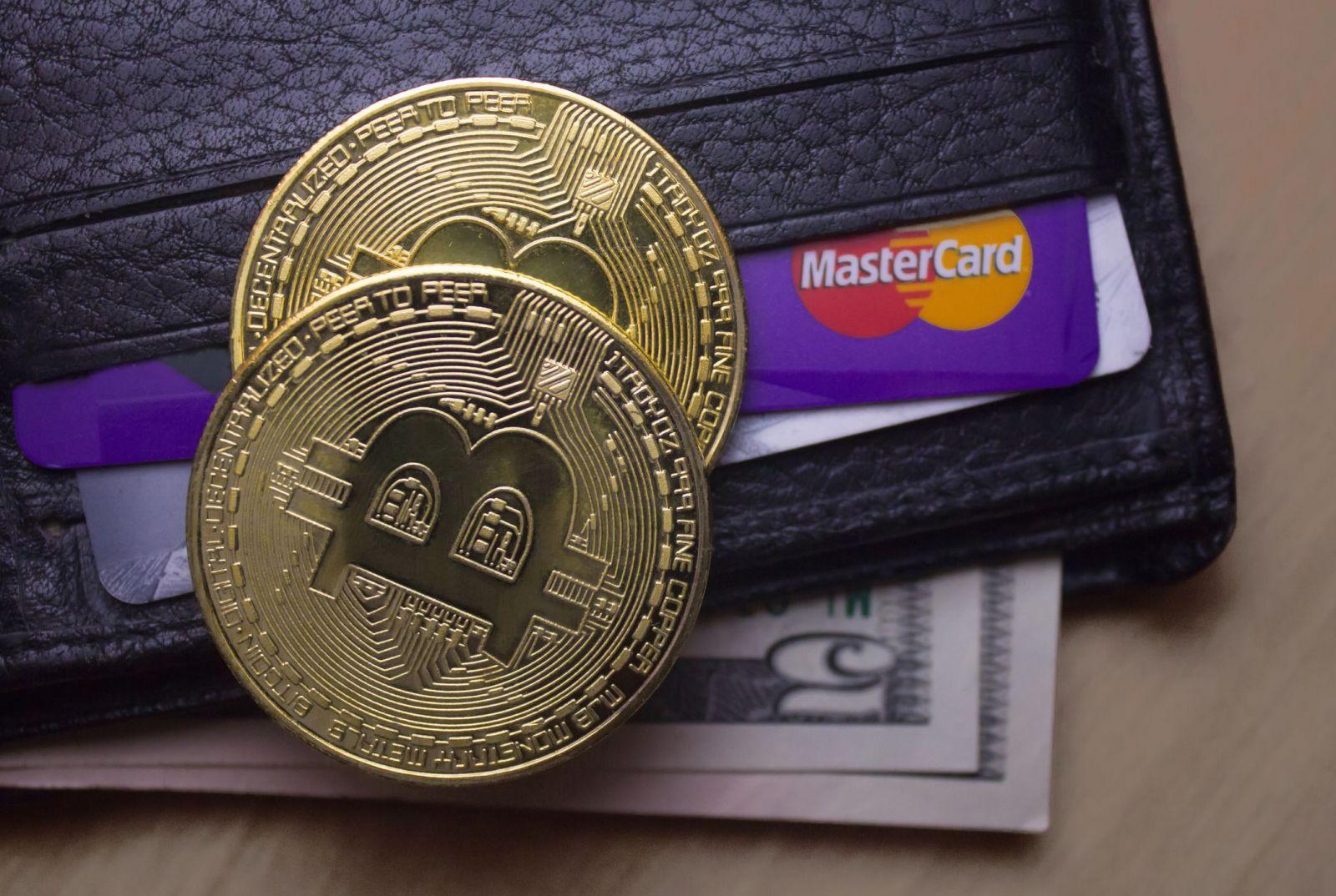 Вивід Bitcoin на карту
