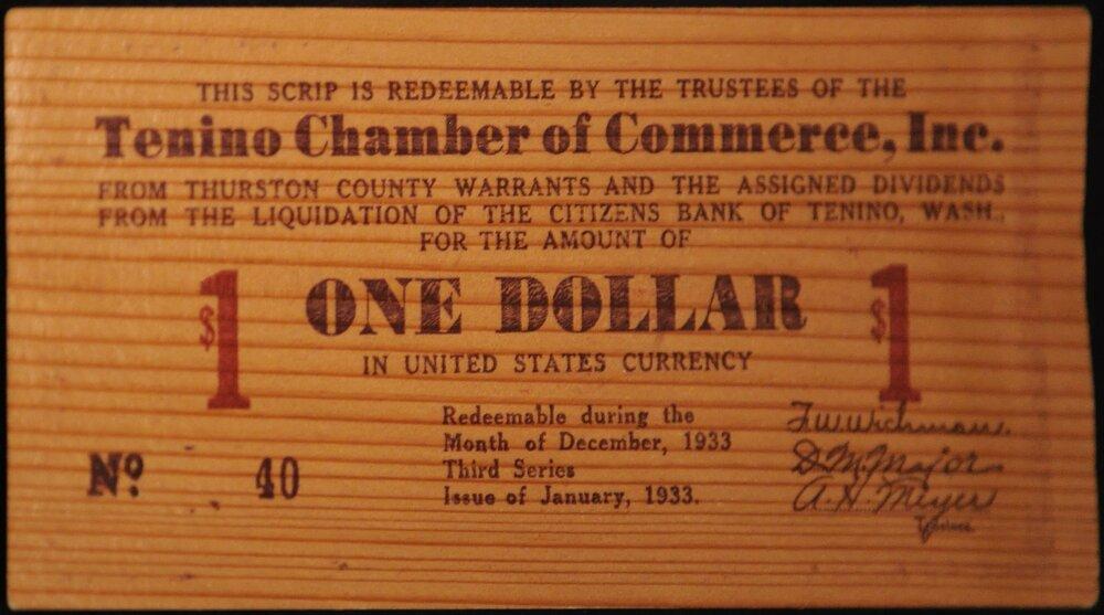 Дерев'яний долар