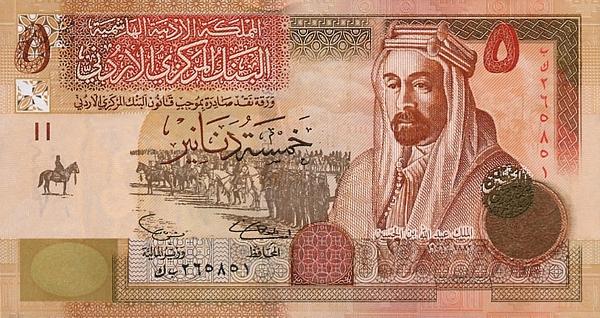 Йорданський динар